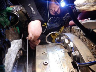 Stern Seal repair