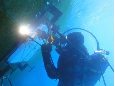 Underwater Blanking